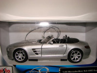 31272 Автомобиль Mercedes-Benz SLS AMG Roadster 1:24