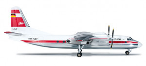 554374 Самолёт Interflug Antonov/Антонов AN-24V 1:200 *