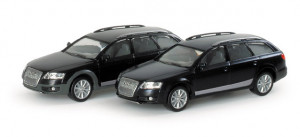 033534 Автомобиль Audi A6 Allroad ®, metallic  1:87