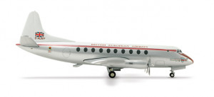 553131 Самолёт BEA - British European Airways Vickers Viscount 701 1:200 **