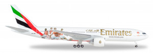 529235 Гражданский Самолет Emirates Boeing 777-200LR Arsenal London 1:500