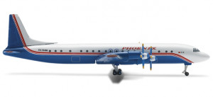 514910 Самолет IL-18 Phoenix Aviation 1:500 *