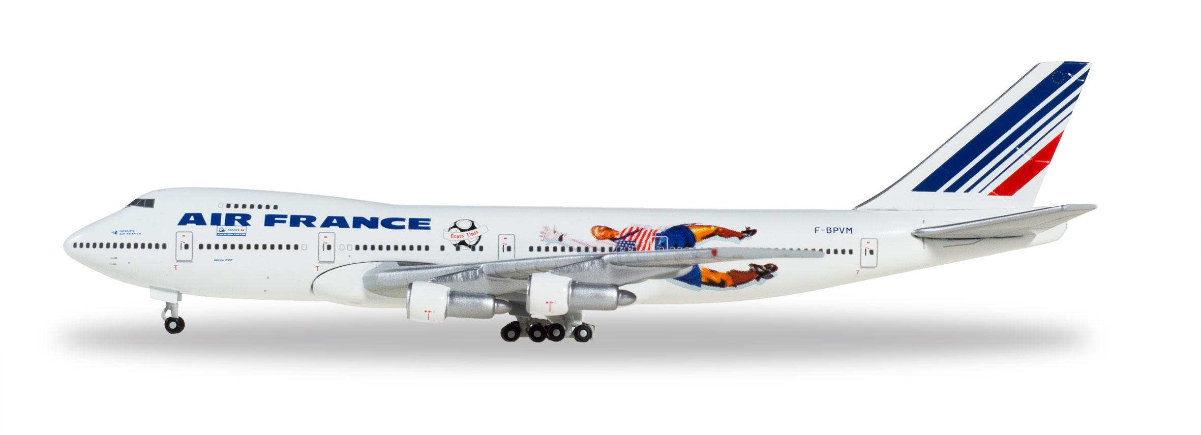 Клубная модель Air France 98 Boeing 747-100 1:500