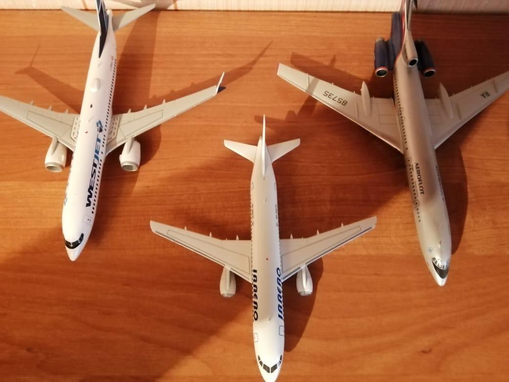 Самолетики из коллекции наших друзей