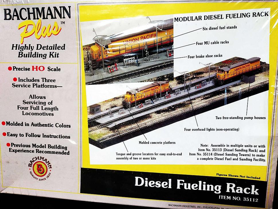 Набор комплектующих для макета железнодорожной платформы 1:87
