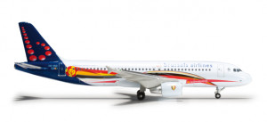 Brussels Airlines Airbus A320 Red Devils 1:500