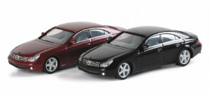 033312 Автомобиль MB CLS Coupe, met 1:87 темно зеленый