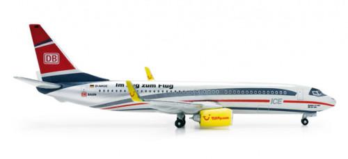 """518369 Самолёт TUIfly Boeing 737-800 Deutsche Bahn """"ICE"""" 1:500 *"""
