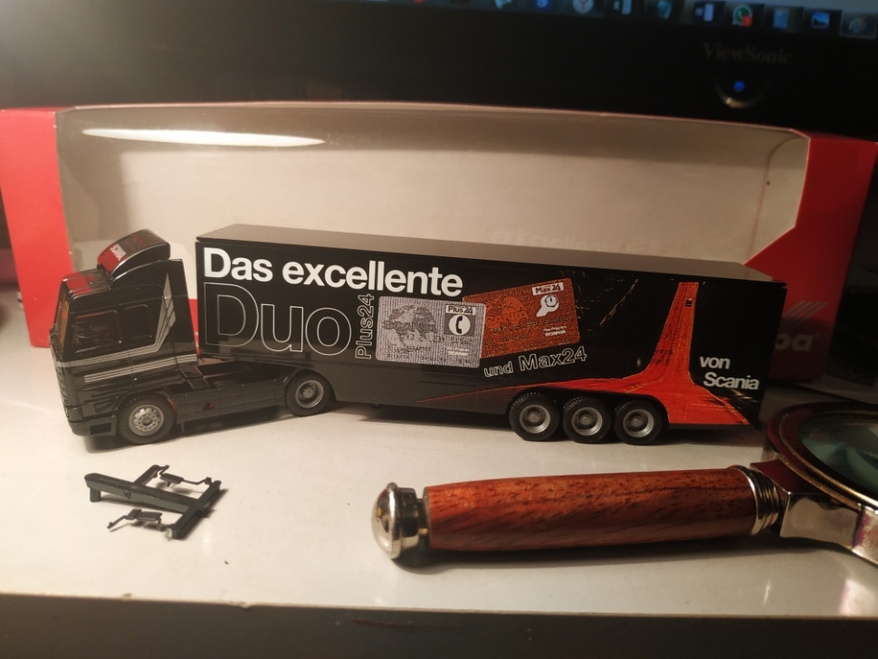 173858 Фура Scania 143 M Excellente Duo 1:87