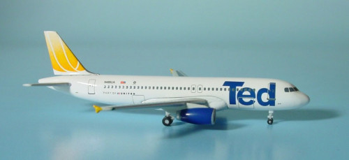 502207 Самолет Airbus A320 Ted 1:500