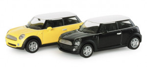 033602 Автомобиль Mini Cooper™, metallic 1:87