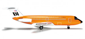 Самолет Braniff International BAC 1-11-200 1:500