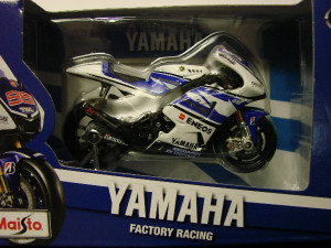 31583 Мотоцикл Yamaha Factory Racing №99 1:18