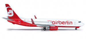 523028 Самолет Air Berlin Turkey Boeing 737-800 1:500