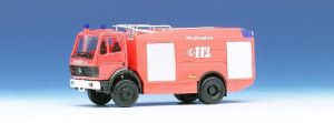 042925  Пожарный а/м Mercedes-Benz TLF 24/48 fire department, красный 1:87 *