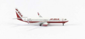 560603 Самолет Boeing 737-800 Air Berlin 1:400