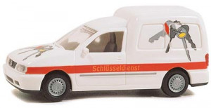 VW Caddy 'Schlusseldienst'. Артикул 30852