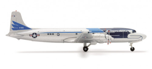507943 Самолет US Air Force Douglas DC-6/VC-118 The Independence 1:500