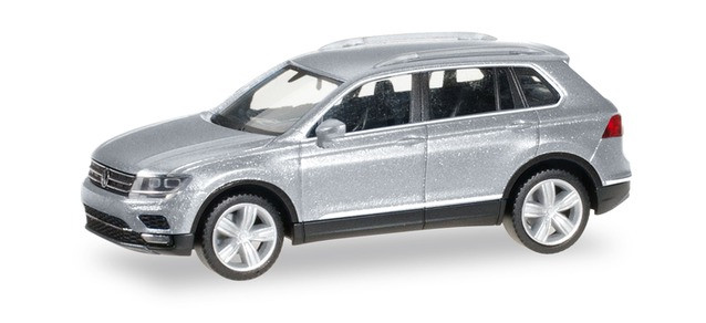 038607-004 Автомобиль VW Tiguan, Tungsten Silver metallic 1:87