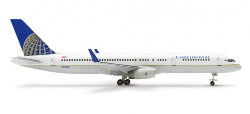 510271 Самолет Continental Airlines Boeing 757-200 1:500