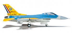 555043 Военный самолет USAF Texas ANG Lockheed F-16C Fighting Falcon, 147th FW, 111th FS - 90th Anniversary 1:200