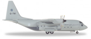 530477 Военный самолет Royal Netherlands Air Force Lockheed C-130H 1:500​