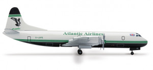 561556 Самолёт Atlantic Airways Lockheed L-188A Electra 1:400