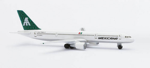 503778 Самолет Boeing 757-200 Mexicana Airlines 1:500