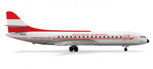 505017 Самолёт Austrian Airlines Sud Aviation Caravelle 1:500 *